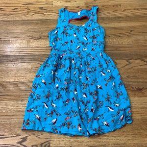 Xhilaration Bird/Floral Sleeveless Dress sz: M